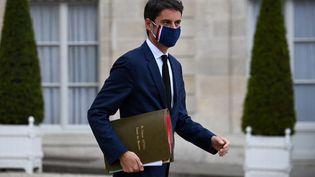 Gabriel Attal, le porte-parole du gouvernement, à l'Elysée, le 5 mai 2021. (ANNE-CHRISTINE POUJOULAT / AFP)