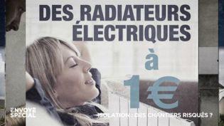 Envoyé spécial. La rénovation énergétique, un marché qui fait des milliers de victimes (ENVOYÉ SPÉCIAL  / FRANCE 2)