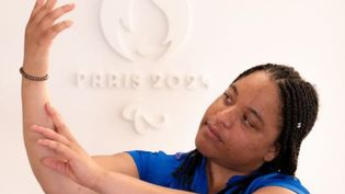 Dimanche 5 septembre, Betty Moutoumalaya interprétera la Marseillaise en langue des signes lors de la cérémonie de clôture des Jeux paralympiques de Tokyo.Photo postée sur le compte Instagram de Paris 2024. (Photo postée sur le compte Instagram de Paris 2024. CAPTURE D'ECRAN)