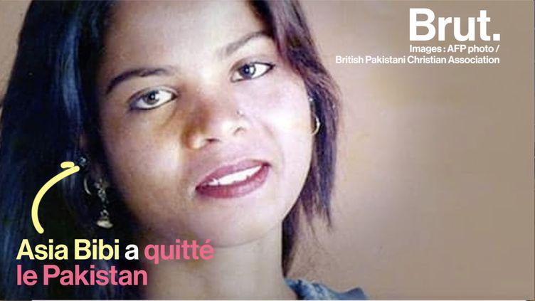 Après avoir été emprisonnée pendant 8 ans et soumise à de vives révoltes, Asia Bibi a pu quitter le pays et se rendre au Canada où se trouvaient déjà ses filles. (BRUT)