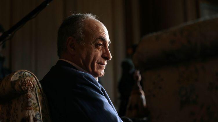 Ziad Takieddine, le 12 avril 2013. (JACQUES DEMARTHON / AFP)