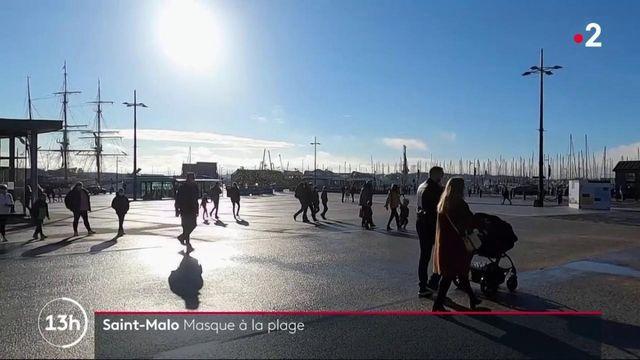 Ille-et-Vilaine : à Saint-Malo le masque est obligatoire même sur la plage