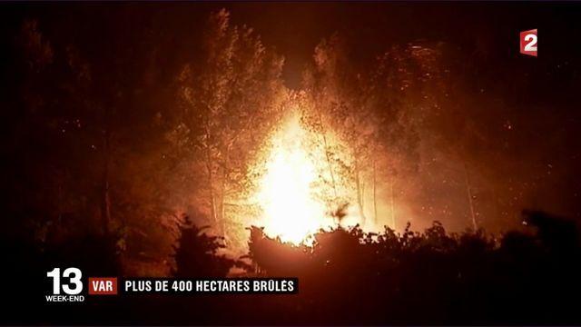 Incendies : le Var encore touché