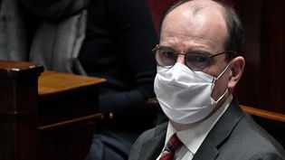 Jean Castex, le 19 janvier 2021. (STEPHANE DE SAKUTIN / AFP)