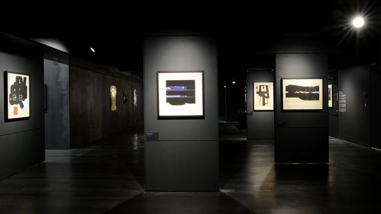 La salle des Estampes au musée Soulages de Rodez (Aveyron), le 21 juin 2014. (PATRICE THEBAULT / ONLY FRANCE / AFP)