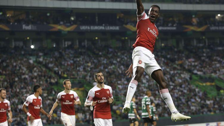 Danny Welbeck a donné la victoire à Arsenal face au Sporting (ARMANDO FRANCA/AP/SIPA / AP)