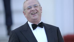 Le PDG de Volkswagen,Martin Winterkorn, lors d'un banquet à l'occasion de la visite de la reine d'Angleterre, à Berlin (Allemagne), le 24 juin 2015. (STEFANIE LOOS / REUTERS)