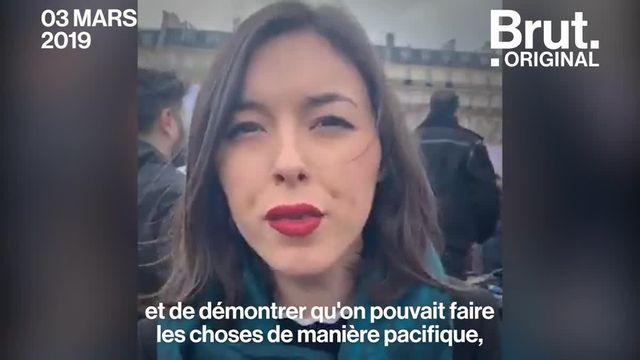 Ce 3 mars à Paris, les manifestants sont venus soutenir les mobilisations algériennes. Présente dans le cortège, Amina a fait part de ses convictions.