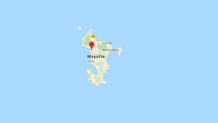 Les enfants ont été retrouvés, mercredi 11 décembre, à Combani, dans le centre de l'île. (GOOGLE MAPS)