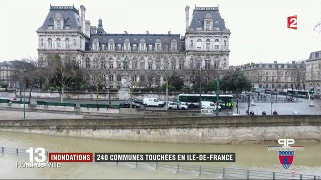 Inondations : 240 communes touchées en Île-de-France