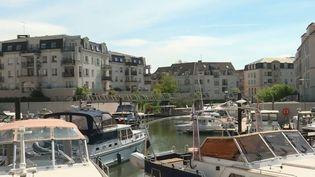 Port-Cery, à Cergy, dans le Val-d'Oise. (FRANCE 2)
