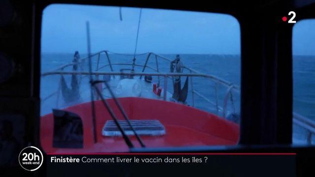 Covid-19 : des vaccins sont acheminés dans les îles bretonnes