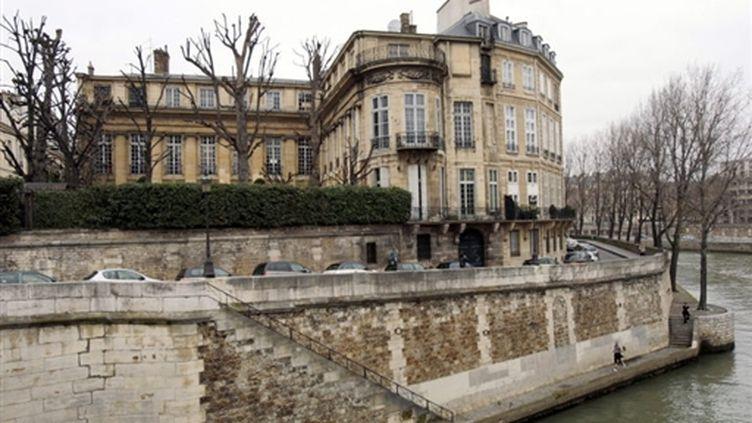 L'hôtel Lambert situé à la proue de l'île Saint-Louis est l'un des plus beaux hôtels particuliers de Paris (AFP - FRANCOIS GUILLOT)