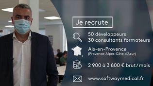 20 : #PrioritéEmploi : des développeurs dans le domaine de la santé sont recherchés (France 2)