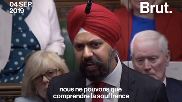 VIDEO. Quand un député réclame des excuses à Boris Johnson en plein Parlement britannique (BRUT)