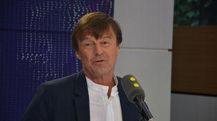 Nicolas Hulot,ministre de la Transition écologique et solidaire. (RADIO FRANCE / JEAN-CHRISTOPHE BOURDILLAT)
