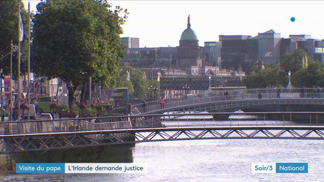 Visite du pape : l'Irlande demande justice