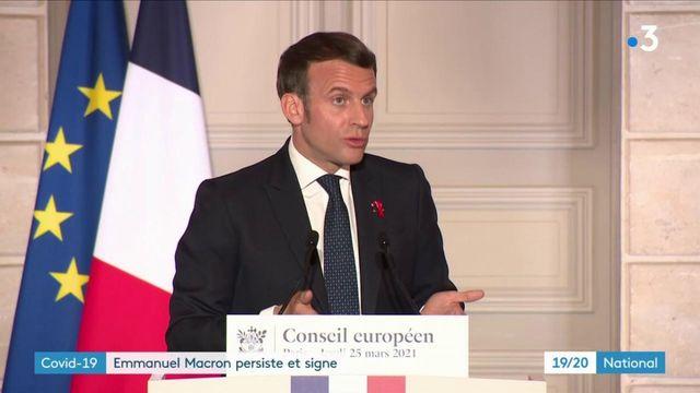 Covid-19 : Emmanuel Macron assume ses choix