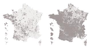 AVANT/APRES. Présidentielle : découvrez l'évolution du vote Macron entre les deux tours en gif animé (FRANCEINFO)