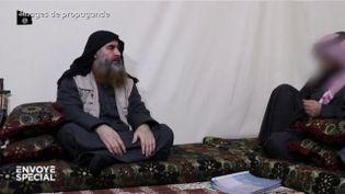 Comment une vidéo de propagande du groupe Etat islamique a aidé à localiser Al-Baghdadi (ENVOYÉ SPÉCIAL  / FRANCE 2)