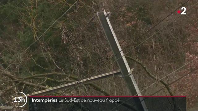 Intempéries : l'Auvergne-Rhône-Alpes balayée par les vents
