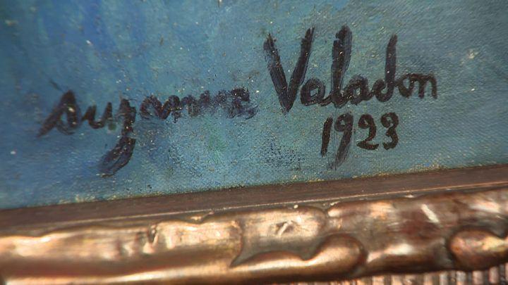 1923 (Signature Suzanne valandon)