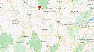 Ternant, en Côte-d'Or (Bourgogne-Franche-Comté). (GOOGLE MAPS)