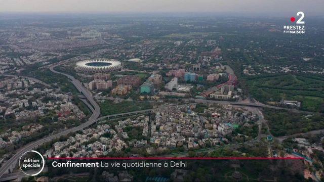 New Delhi : un confinement à géométrie variable selon les quartiers