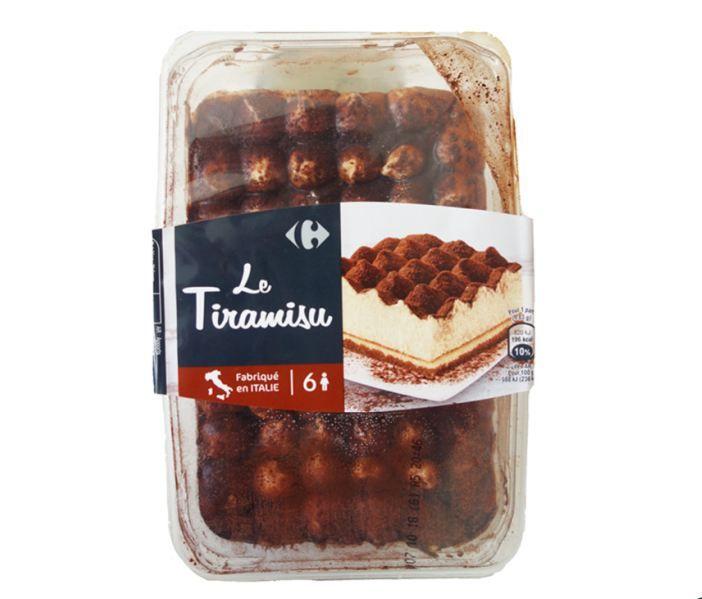 Les Tiramisu de la marque Carrefour. (FOODWATCH)