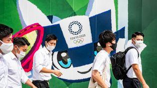 Les fans japonais ne pourront pas suivre les Jeux depuis des fanzones. (PHILIP FONG / AFP)