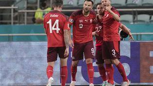 La Suissea battu 3-1 la Turquie. (DARKO VOJINOVIC / POOL)