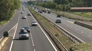 La voie rapide entre Montpellier et Palavas-les-Flots (Hérault), où deux jeunes scootéristes ont été mortellement percutées par un chauffard, le 8 août 2014. (FRANCE 3 LANGUEDOC-ROUSSILLON / FRANCETV INFO)