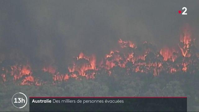 Incendies en Australie : contre-la-montre avant une nouvelle journée noire
