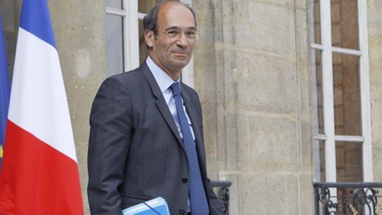 Le ministre du Travail, Eric Woerth, le 25 août 2010. (AFP - Patrick Kovarik)