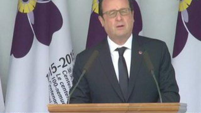 Pour la commémoration du génocide arménien, la France fait office d'exception