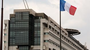 Le ministère des Finances et de l'Economie, quartier Bercy à Paris. (LOIC VENANCE / AFP)