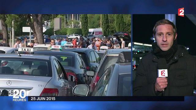 Taxi : une grève sous-tension