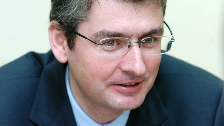 Emmanuel Besnier lors d'une visite en Croatie, en avril 2007. (SKLEDAR/CROPIX/SIPA)