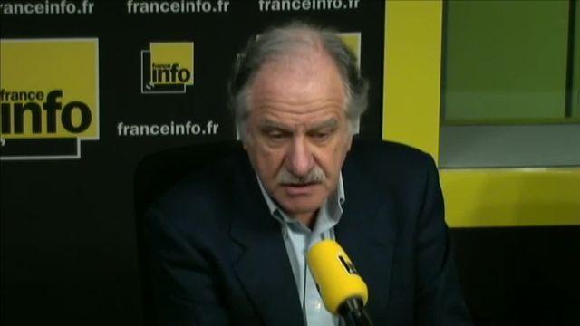 Noël Mamère était l'invité de la matinale de France Info, vendredi 12 février.