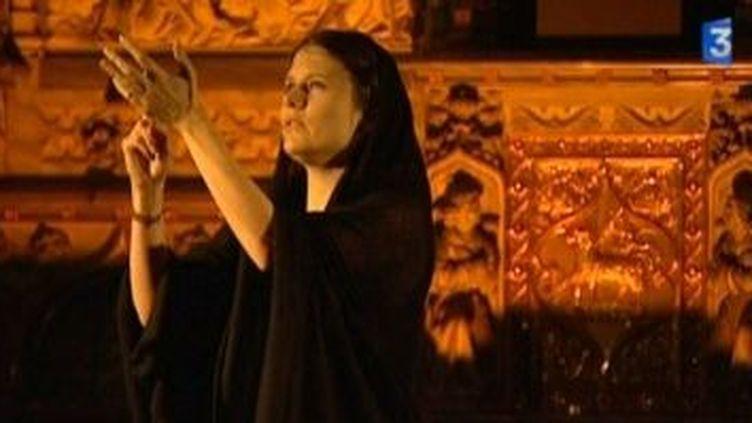 """Camille revisite les chants religieux dans """"God is sound""""  (Culturebox)"""