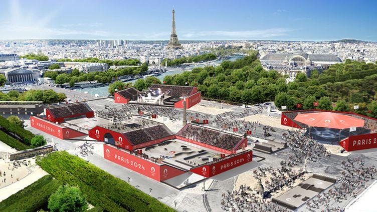 Paris va accueillir les Jeux olympiques en 2024. (Média-Paris 2024)