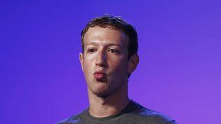Le patron de Facebook, Mark Zuckerberg, le 9 octobre 2014 àNew Delhi (Inde), lors d'un sommet sur internet. ( ADNAN ABIDI / REUTERS)