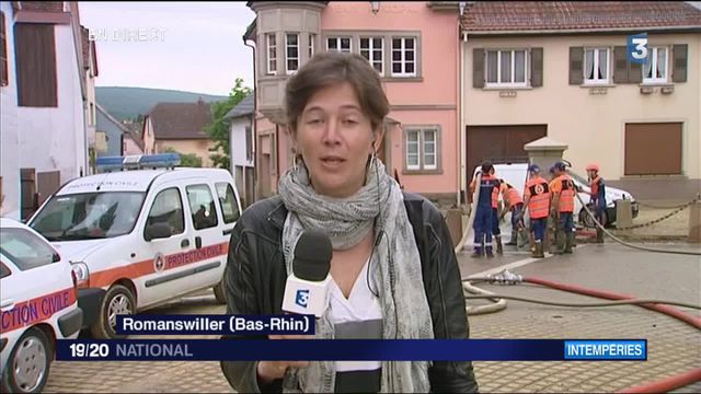 Inondations : les habitants de Romanswiller sous le choc