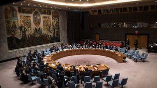 Le Conseil de sécurité des Nations unies, à New York (Etats-Unis), le 21 décembre 2016. (DREW ANGERER / GETTY IMAGES NORTH AMERICA / AFP)