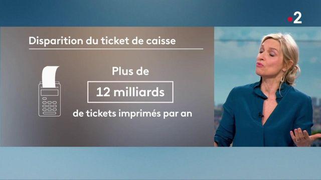 Conso : les tickets de caisse en voie de disparition en France