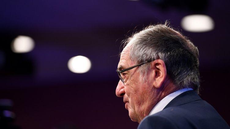 Noël Le Graët, le président de la FFF, le 26 juin 2020 à Paris. (FRANCK FIFE / AFP)