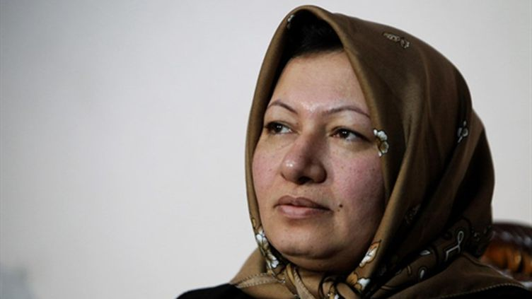 Sakineh Mohammadi Ashtiani, le 1er janvier 2010 à Tabriz. (AFP - Atta Kenare)