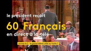 OUVREZ LE 1 / FRANCEINFO (CANAL 27) (CAPTURE ECRAN / OUVREZ LE 1 / FRANCEINFO (CANAL 27))