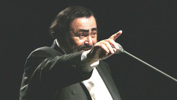 Luciano Pavarotti reste l'un des plus grands ténors du XXe siècle  (CARLOS CONTRERAS / NOTIMEX / AFP)