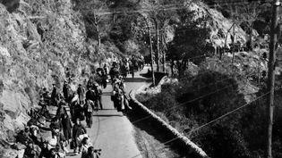 La Retirada des républicains espagnolsvers la France, entre 1939 et 1941. (FRANCE 2)